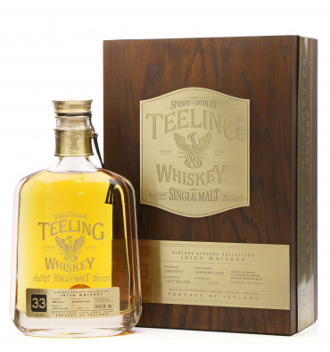 Teeling 33 Years Old 1983 - Vintage Reserve Collection