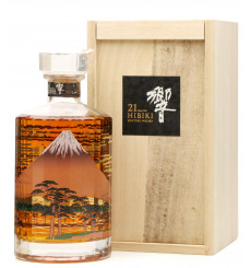 Hibiki 21 Years Old - Mount Fuji Suntory