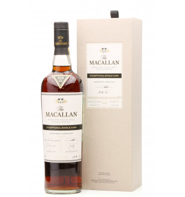 Macallan 2002 - 2018 Exceptional Single Cask No.04