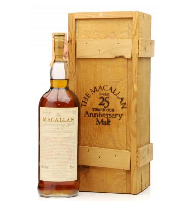 Macallan Over 25 Years Old 1965 - Anniversary Malt (Giovinetti & Figli)