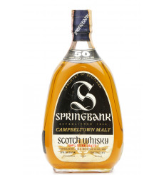 Springbank 50 Years Old 1919 - J. & A. Mitchell & Co