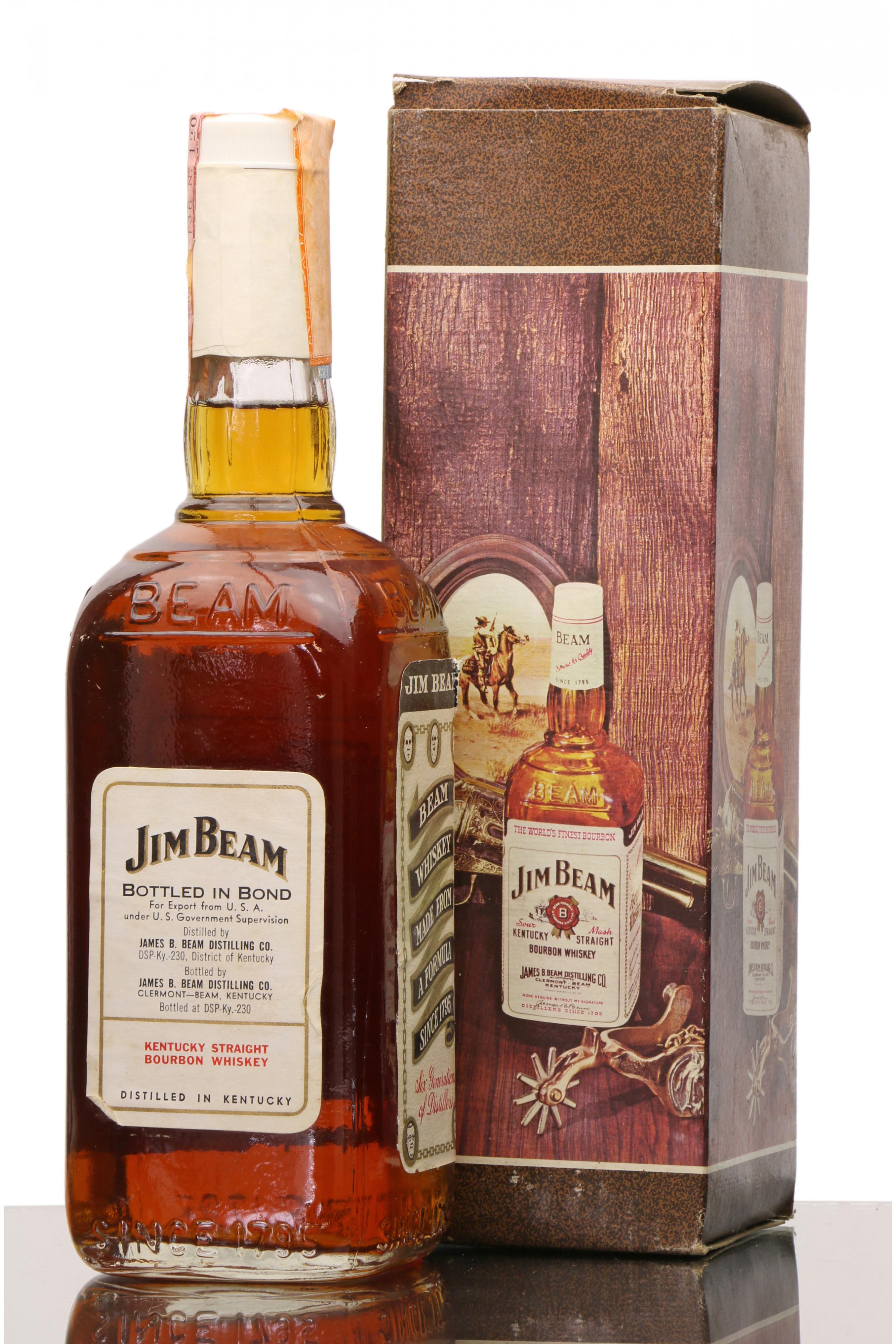 Jim Beam Kentucky Straight Bourbon 75cl Just Whisky