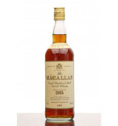 Macallan 17 Years Old 1965 - Special Selection (75cl)