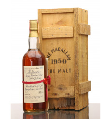 Macallan 1950 Handwritten Label - 1981 Rinaldi Import (75cl)