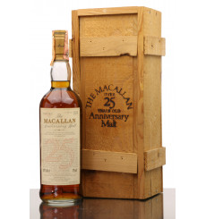 Macallan Over 25 Years Old 1965 - Anniversary Malt (Giovinetti & Figli)