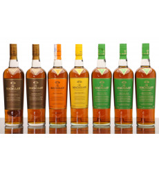Macallan Edition No.1-4 & 2x No.4 Special Editions (7x 70cl))