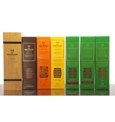 Macallan Edition No.1-4 & 2x No.4 Special Editions (7x 70cl))