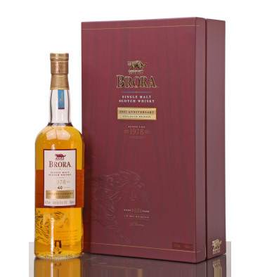 Brora 40 Years Old 1978 - 200th Anniversary