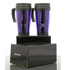 North British Branded Travel Coffee Mugs x2