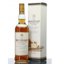 Macallan Distiller's Choice - Japanese Domestic Market