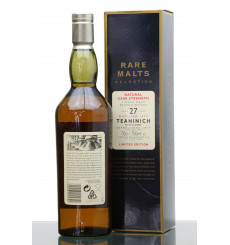 Teaninich 27 Years Old 1972 - Rare Malts