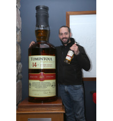 Tomintoul 14 Years Old **Worlds Largest Bottle Of Single Malt Whisky** (105.3 Litres)