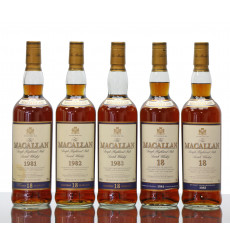 Macallan 18 Years Old Set (1981 - 1985)