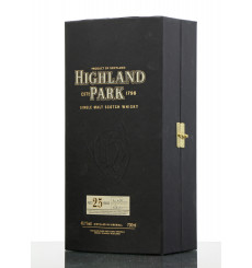 Highland Park 25 Years Old **Box Only**