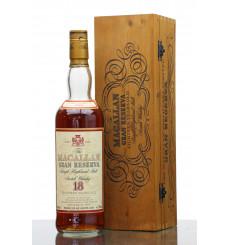 Macallan 18 Years Old  1980 - Gran Reserva **Leaking Bottle**