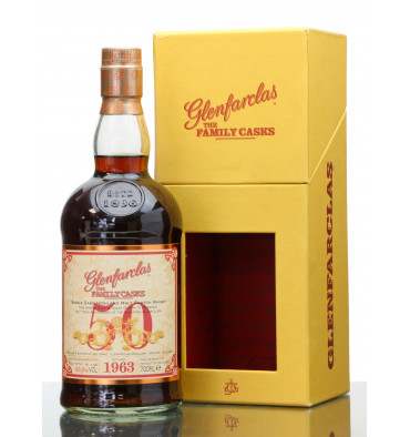 Glenfarclas 50 Years Old 1963 - Family Cask No. 189 (Taiwan Edition)