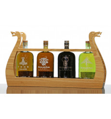 Highland Park The Valhalla Collection with Longboat Stand