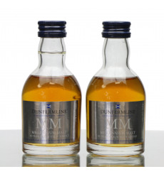 Blair Athol 10 Years Old - Millennium Malt Dunfermline Building Society Miniature x2 (5cl)