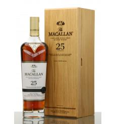 Macallan 25 Years Old Sherry Oak - 2019 Release