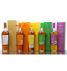 Macallan Edition No.1, 2, 3, 4 & 5 (5x70cl)