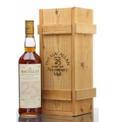 Macallan Over 25 Years Old 1970 - Anniversary Malt