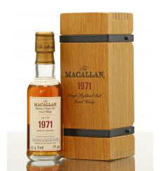 Macallan 30 Years Old 1971 - Fine & Rare Miniature