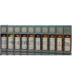 Cadenhead's 175th Anniversary - Whisky Shop Front Collection (70cl x10)