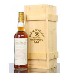 Macallan Over 25 Years Old 1971 - Anniversary Malt