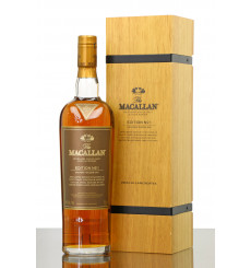 Macallan Edition No.1 - Wooden Presentation Box