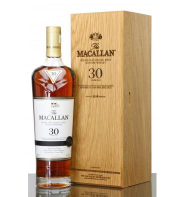 Macallan 30 Years Old  Sherry Oak - 2018 Release