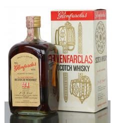 Glenfarclas 21 Years Old - Square 1970s Bottle (75cl)