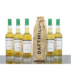 Daftmill 2005 - Inaugural 2005, 2006, 2006, 2007, 2008 (5 bottles)