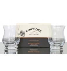 Bowmore Glasses x 2