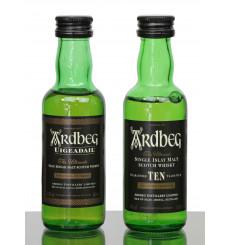 Ardbeg 10 Years Old & Uigeadail - Miniatures (5cl x2)