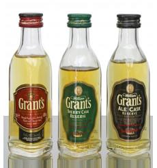 Grant's Miniature's (5cl x3)