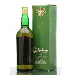 Talisker 8 Years Old 80° Proof