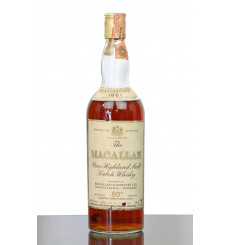 Macallan 1961 - 80° Proof - Campbell Hope & King