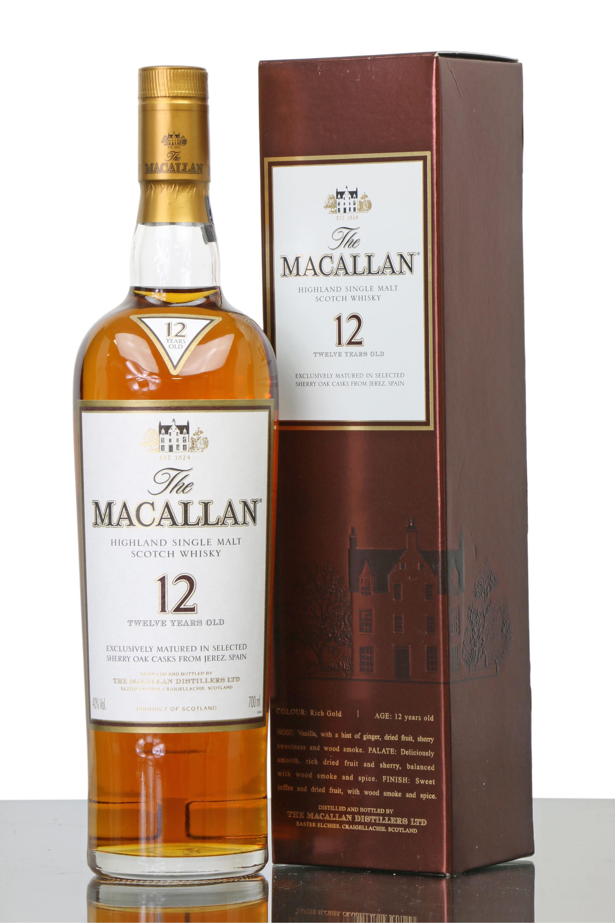 Macallan 12 YO - The Boogaloo Bali