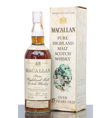 Macallan 1955 - 80° Proof - Campbell Hope & King