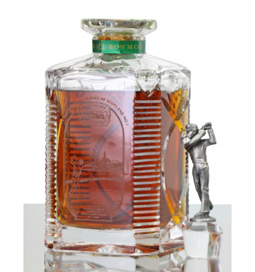 Bowmore 21 Years Old - Golf Courses of Scotland Decanter (Turnberry)