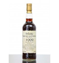Bowmore 25 Years Old 1992 - Kigsbury Single Cask No.1086