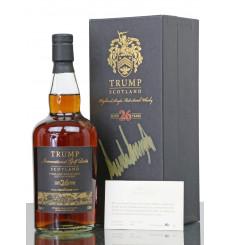 Glendronach 26 Years Old - Trump International Scotland **Signed by Donald Trump**