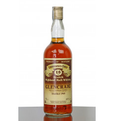 Glencraig 16 Years Old 1968 - G&M Connoisseurs Choice