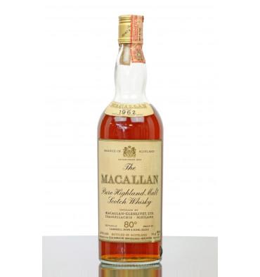 Macallan 1962 - Campbell, Hope & King Rinaldi Import (80° Proof)