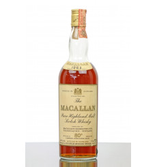 Macallan 1962 - Campbell, Hope & King Rinaldi Import (80° Proof)