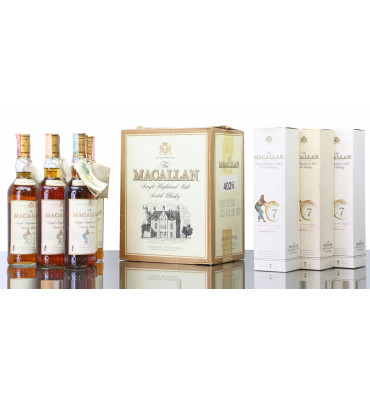 Macallan 7 Years Old - Giovinetti & Figli (Case of 6)
