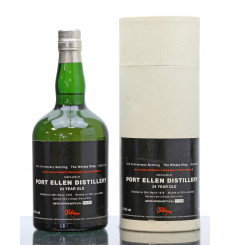 Port Ellen 24 Years Old 1978 - Whisky Shop 10th Anniversary