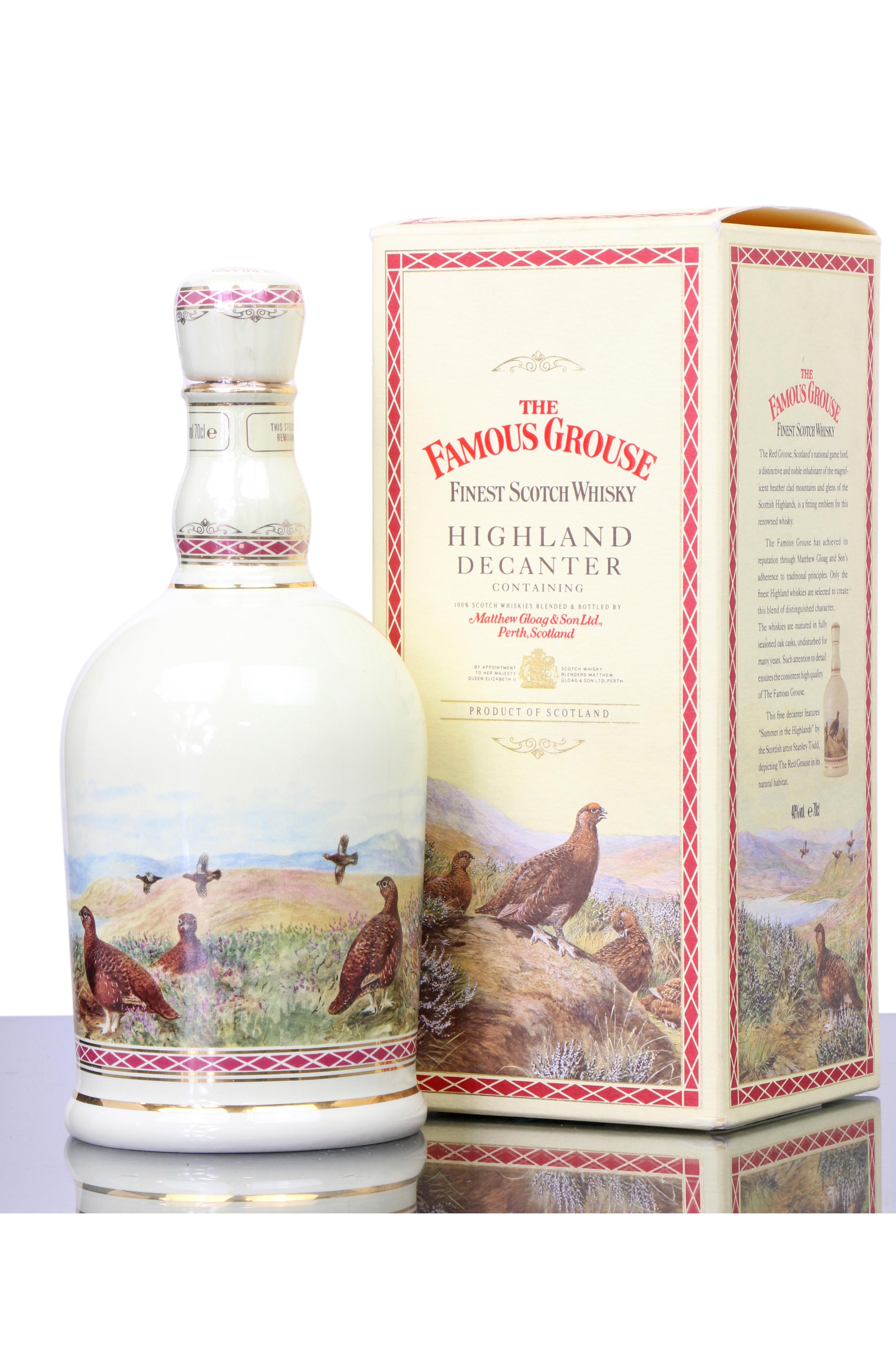 FAMOUS GROUSE - Celebration Decanter - World of Whisky AG