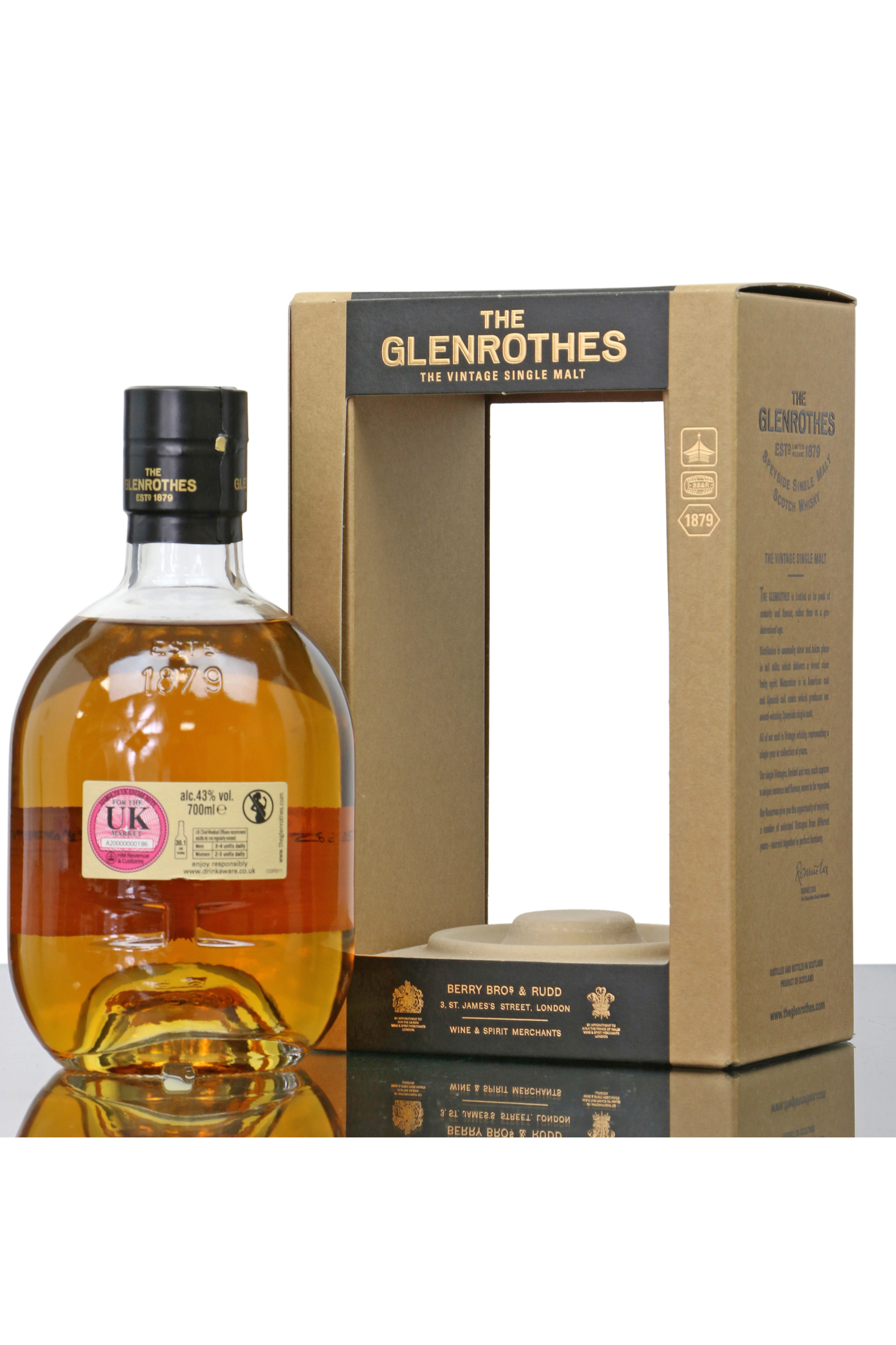 Glenrothes 40 Year Old | The Whisky Shop