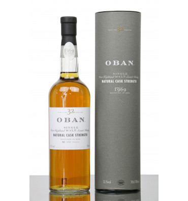 Oban 32 Years Old 1969 - 2002 Natural Cask Strength